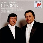 Perahia, Murray - Chopin: Piano Concertos Nos. 1 & 2 DB Cover Art