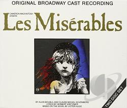 Original Broadway Cast - Les Miserables CD Cover Art