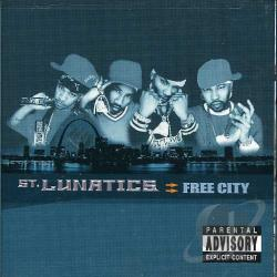 St. Lunatics - Free City CD Cover Art