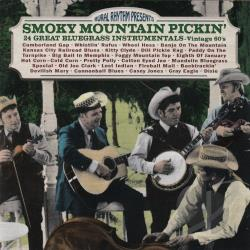 Smokey Mountain Pickin': 24 Great Bluegrass Instrumentals CD Cover Art