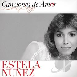 Nunez, Estela - Canciones de Amor CD Cover Art