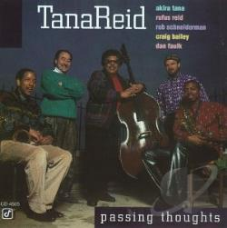 TanaReid - Passing Thoughts CD Cover Art