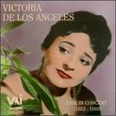 De Los Angeles, Victoria - Live in Concert 1952-1960 CD Cover Art