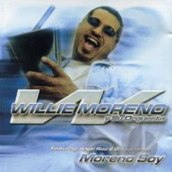 Moreno, Willie - Moreno Soy CD Cover Art