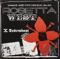 Rosetta West - X Descendant CD Cover Art