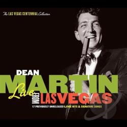 Martin, Dean - Live from Las Vegas CD Cover Art
