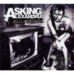 Asking Alexandria - Reckless & Relentless CD Cover Art