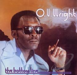 Wright, O.V. - Bottom Line CD Cover Art