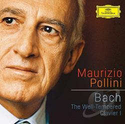 Pollini, Maurizio - Well-Tempered Clavier I CD Cover Art