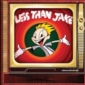 Less Than Jake - TV/EP LP Cover Art