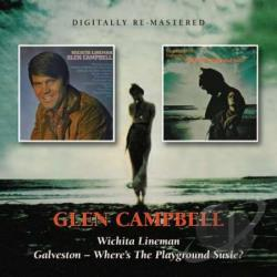 Campbell, Glen - Wichita Lineman/Galveston -- Where's the Playground Susie? CD Cover Art