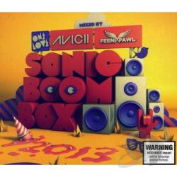 Avicii / Feenixpawl - Onelove Sonic Boom Box 2013: Mixed by Avicii & Feen CD Cover Art