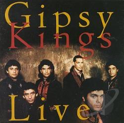 Gipsy Kings - Live! CD Cover Art