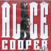 Cooper, Alice - Live CD Cover Art