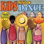 Kids Sing and Dance CD Cover Art