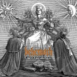 Behemoth - Evangelion CD Cover Art