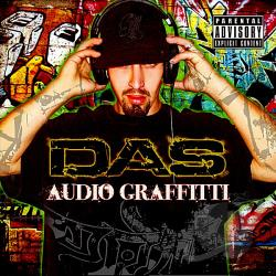 DAS (Daniel Sanchez) - Audio Graffitti CD Cover Art