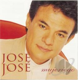 Jose Jose - Mujeriego CD Cover Art