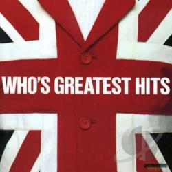 Who - Who's Greatest Hits CD Cover Art