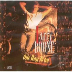 Boone, Larry - One Way To Go CD Cover Art