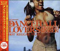 Dancehall Lovers Second Season CD Cover Art