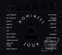 Grammy Nominees 2008 CD Cover Art