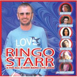 Starr, Ringo - Ringo Starr & His All Starr Band Live 2006 CD Cover Art