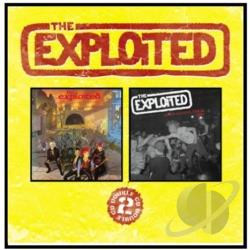 Exploited - Troops of Tomorrow/Apocalypse Tour 81 CD Cover Art