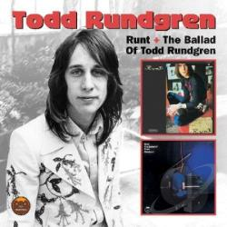 Rundgren, Todd - Runt + Runt: The Ballad of Todd Rundgren CD Cover Art