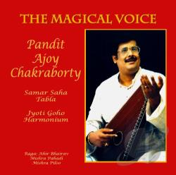 Chakraborty / Guho / Saha - Magical Voice CD Cover Art