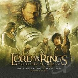 Lord Of The Rings - Lord of the Rings: The Return of the King CD Cover Art