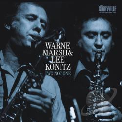 Konitz, Lee / Marsh, Warne - Two Not One CD Cover Art