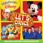Playhouse Disney Let's Dance DB Cover Art