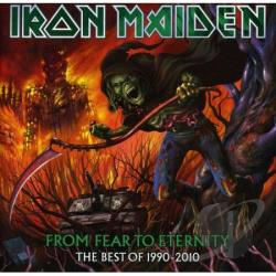 Iron Maiden - From Fear To Eternity: Best Of 1990 - 2010 CD Cover Art