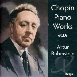 Chopin / Rubinstein, Anton - Chopin: Piano Works CD Cover Art