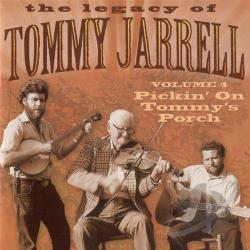 Jerrell, Tommy - Legacy of 4: Pickin' on Tommy Jarrell CD Cover Art