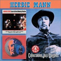 Mann, Herbie - Live at the Whisky A Go Go/Mississippi Gambler CD Cover Art