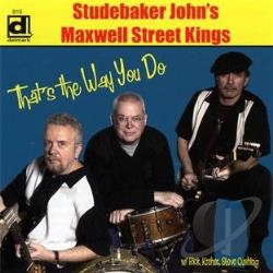 Studebaker John - That's the Way You Do CD Cover Art