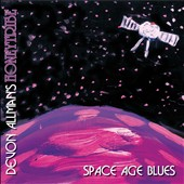 Devon Allman's Honeytribe - Space Age Blues CD Cover Art