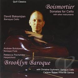 Boismortier / Brooklyn Baroque - Boismortier: Sonatas for Cello CD Cover Art