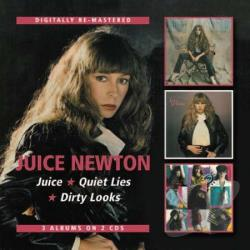 Newton, Juice - Juice/Quiet Lies/Dirty Looks CD Cover Art