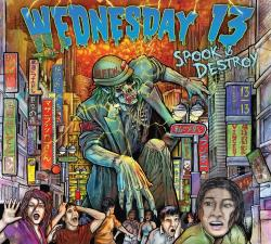 Wednesday 13 - Spook & Destroy CD Cover Art