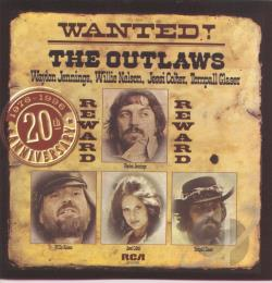 Jennings, Waylon - Wanted! The Outlaws CD Cover Art
