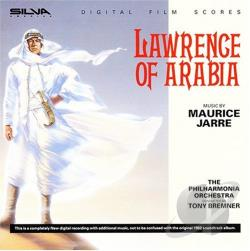 Lawrence of Arabia CD Cover Art