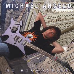 Batio, Michael Angelo - No Boundaries CD Cover Art