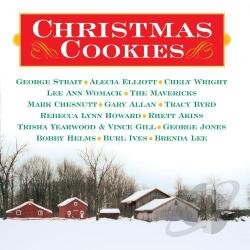 Christmas Cookies CD Cover Art