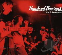 Hundred Reasons - Live at Freakscene CD Cover Art