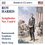 Alsop / Bournemouth So / Harris - Roy Harris: Symphonies Nos. 5 and 6 CD Cover Art