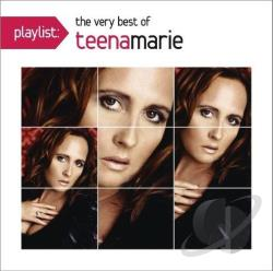 Marie, Teena - Playlist: The Very Best of Teena Marie CD Cover Art