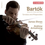 Armstrong / Bartok / Ehnes - Bart�k: Sonatas & Rhapsodies, Vol. 1 CD Cover Art